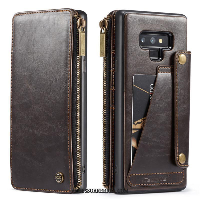 Samsung Galaxy Note 9 Skal Fodral Plånbok Skydd Kort Väska Kreativa Mobil Telefon